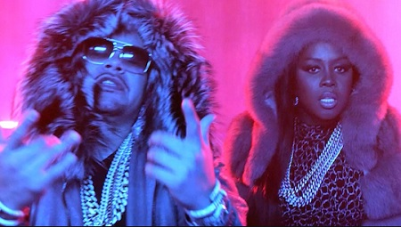 New Video Fat Joe & Remy Ma ft. French Montana All The Way Up