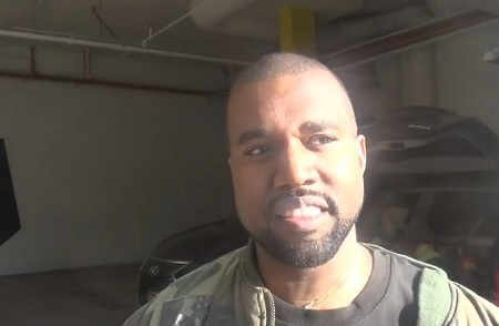Video Fk A Uber Kanye West Gets A Ride From The Paparazzi