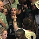 Exclusive: Post Malone Grabs Justin Bieber By The Throat.
