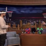 Drake Plays Faceketball On The Tonight Show.