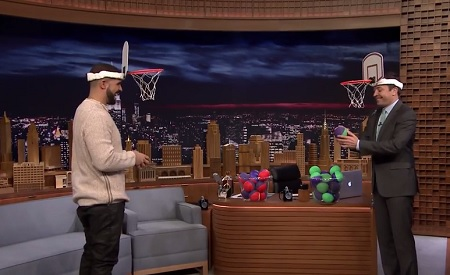 Drake Plays Faceketball On The Tonight Show
