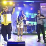 "Remy Ma, Fat Joe & French Montana Performs ""All The Way Up"" On The Real."