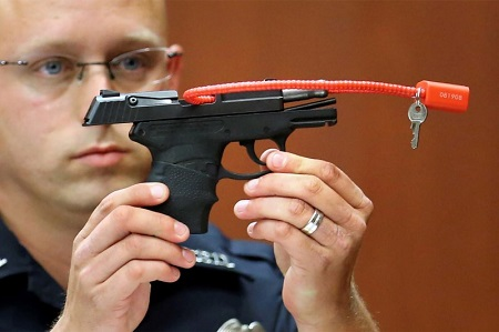 Some Azzhole brought The Gun George Zimmerman Used To Kill Trayvon Martin for $120,000