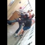 WOW: Teacher Covered In Blood After Fight Between Him & Student.