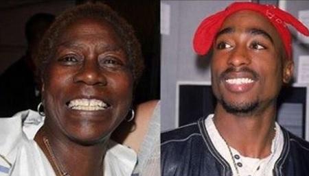 tupac's mother dies