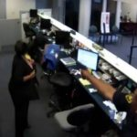 Caught On Video: Bank Robber Shot By Cop
