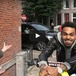 Wow: Chris Brown was high as a kite when stopped by Amsterdam Police.