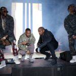"G.O.O.D Music Ft Quavo, Kanye West, Gucci Mane, Big Sean, 2 Chainz, Desiigner & Yo Gotti ""Champions""."