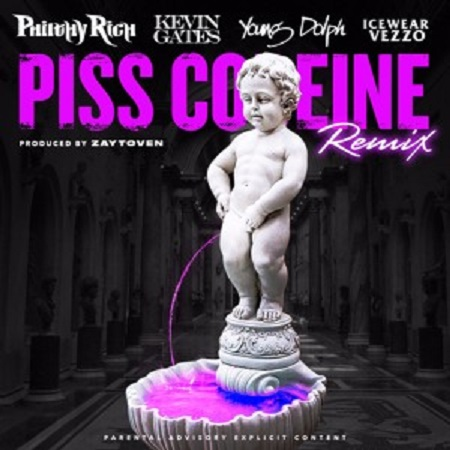 Philthy Rich Ft. Kevin Gates Young Dolph & Icewear Vezzo-Piss Codeine Remix