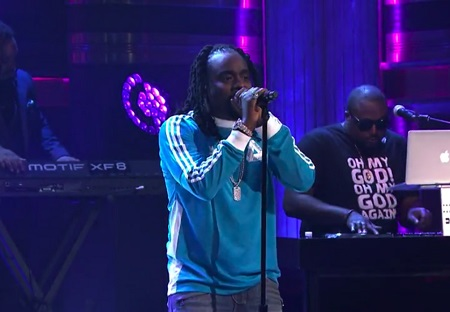 Wale Performs My PYT On Jimmy Fallon Show