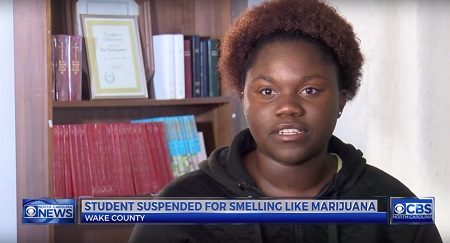 Student Suspended For Smelling Like Weed Even After Passing Drug Test!