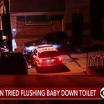 Sad: Father Accused Of Trying To Drown His 6 Week Old Son In A Toilet!