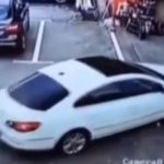 SMH: Female Talking On The Phone Runs Over Three Kids.