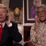 Watch: Donald Trump Calls Madea (Jimmy Fallon Show).