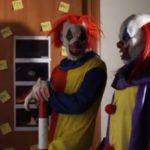 Killer Clown Scare Prank Pt 8 (Video).