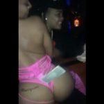 Young M.A Throws Bandz On A Stripper At A Strip Club!