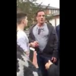 Father Gets Beat Up By High School Kids After Intervening In His Son's Fight!