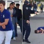 Nevada High School Student Gets Shot in the Shoulder by Campus Police.