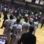 Brawl Breaks Out During A Basketball Game In Memphis.