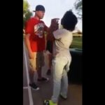 Father Goes Off On 2 Chicks For Trying To Jump His Daughter.