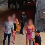 Caught On Camera: Man Sucker Punches Security Guard In The Face.