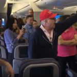 Trump Supporter Booted Off United Flight In China.