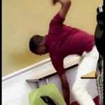 Shocking: Milwaukee High School Student Beats Up His Teacher In Class!