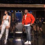 "Yo Gotti performs ""Rake It Up"" with Nicki Minaj for the Tonight Show."