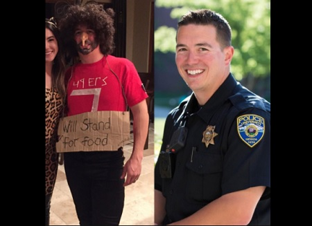 Police Officer Dressed As Colin Kaepernick Is Under Fire For Costume