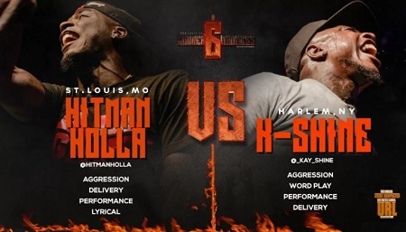 Hitman Holla VS K-Shine