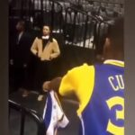 No F*cks Given: Steph Curry Ignores Kid Hoping That He Would Sign His Curry Jersey
