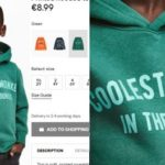 H&M Criticized For Racism Over 'Coolest Monkey In The Jungle' Hoodie.