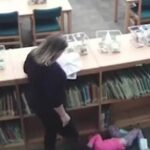 Teacher Fired After She Was Caught On Video Kicking A 5-year-old Student.