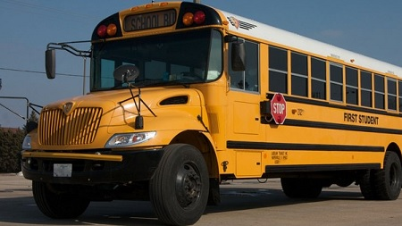 Bus driver turned ac off and Forced children to close all the windows until they behaved.