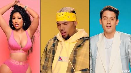 "Chris Brown - ft. Nicki Minaj, G-Eazy ""Wobble Up"" (Official Video)."