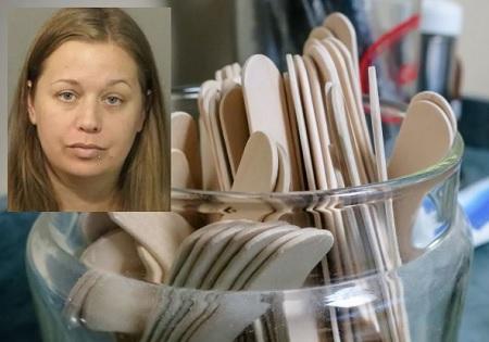 Florida Mom arrested for filming daughter licking tongue depressor