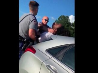 Man choked by Texas trooper after another officer tried to detain him for speeding.