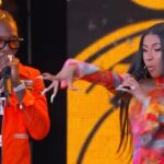 "Offset & Cardi B Performs ""Clout"" Live on Jimmy Kimmel show"