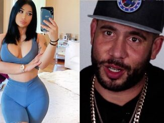 DJ Drama girlfriend Debakii claims he beat her up during their vacation, shows video.