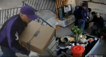Fake FedEx workers