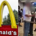 New Orleans McDonald's employee attack customer over food order.