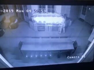 Surveillance Camera catches Intruder At Kylie Jenner's Home