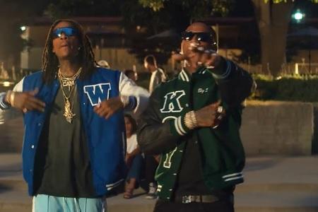"""Wiz Khalifa - ft. Moneybagg Yo """"Never Lie"""" (Official Music Video)."""