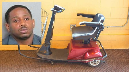 A Louisiana man was arrested after he stole an electric cart from Walmart and drove it to avoid getting a DWI, police said.