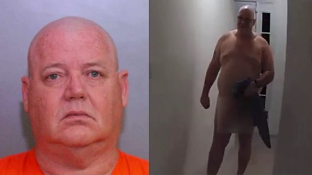 Man shows up naked to undercover Prostitution sex sting.