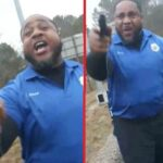 Men Pull Their Guns On Each Other After Argument Over Trump.
