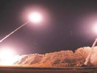 Iran Fires Missiles at U.S. Troops in Iraq.