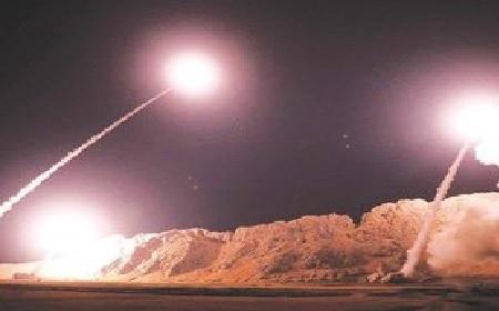 Iran Fires Missiles at U.S. Troops in Iraq.