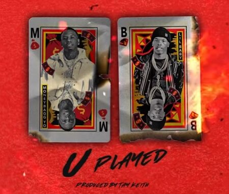 "After teasing us with snippets Memphis, TN rapper Moneybagg Yo finally drops his 1st New Year single featuring Lil Baby titled ""U Played"""