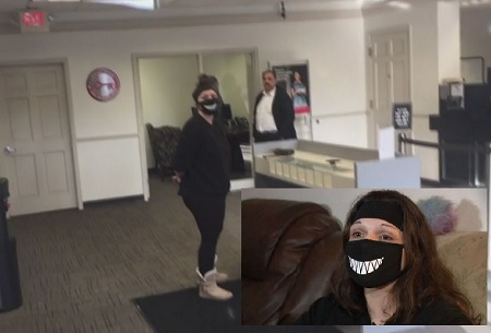 Bank Teller Called Cops On Woman After She Refused To Take Off Her Coronavirus Mask.